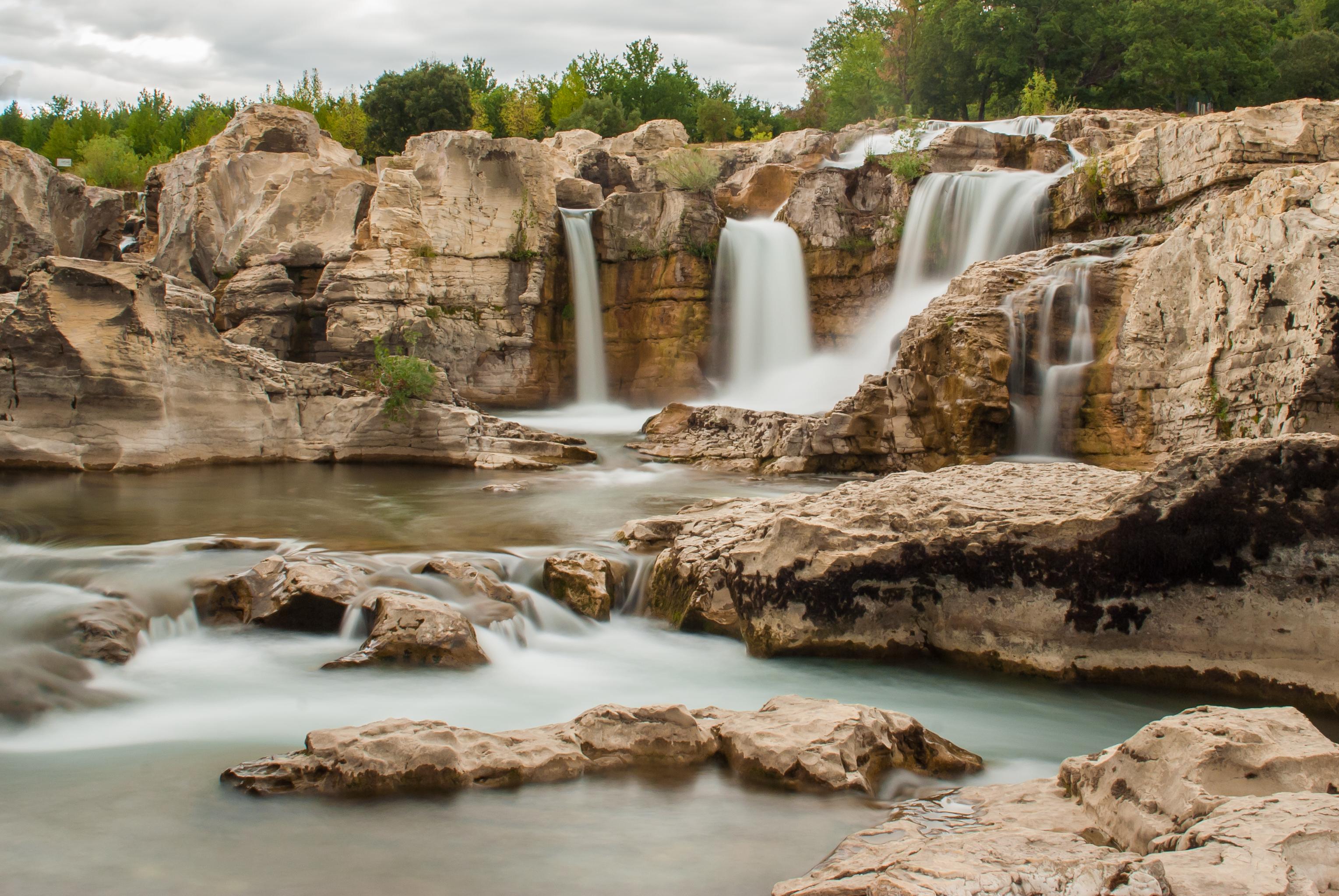 Les cascades du Sautadet - Gard