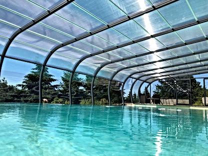 Abris piscine adossé A