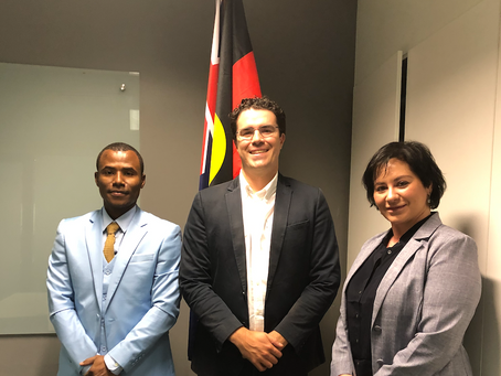Meeting with the MP Tim Watts