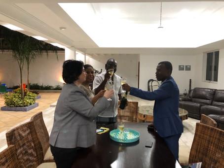 Meeting with the Mayor of Delmas, Haiti, Mr Wilson Jeudy