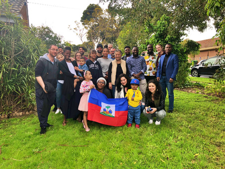 Haitian community in Melbourne.