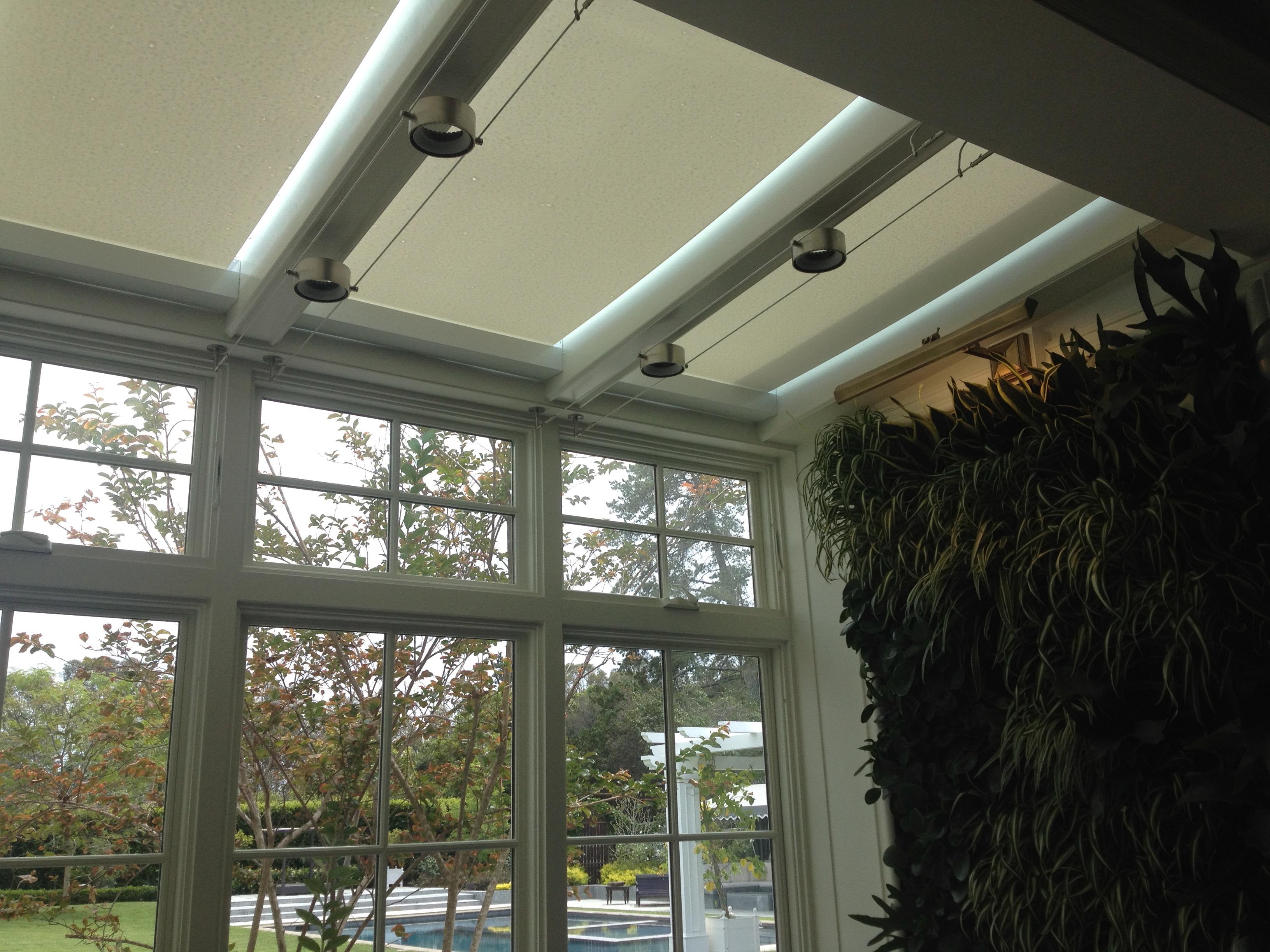 Skylight Shades for Sunroom