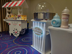 Candy Floss and Candy Cart
