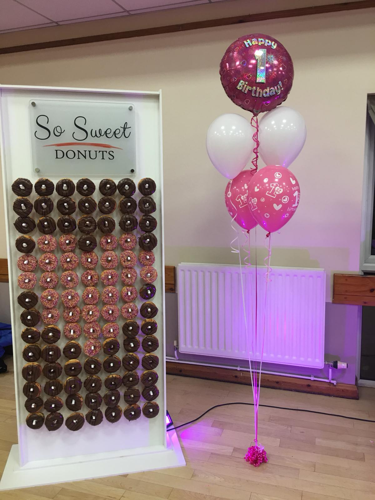 So Sweet Events, Donut Wall