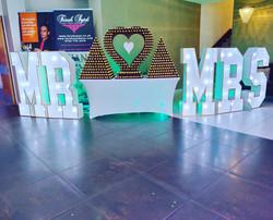 Ferrero Rocher Display and Mr&Mrs