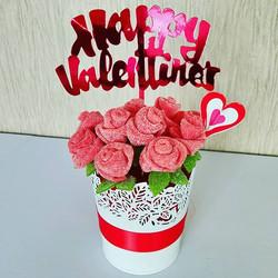 Sweet Dozen Roses
