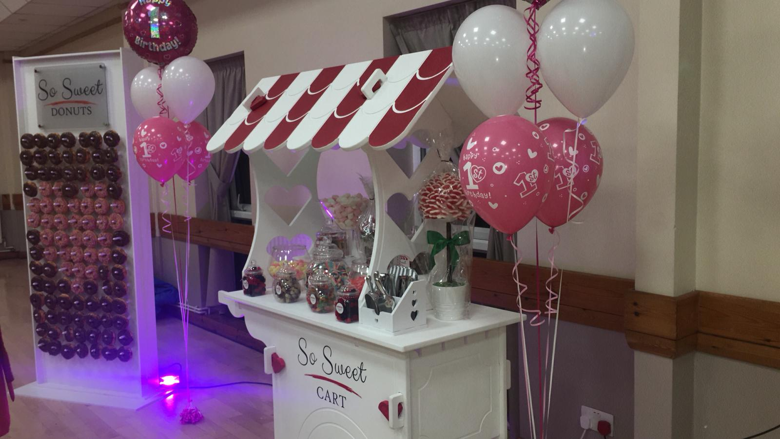 So Sweet Events, Candy Cart