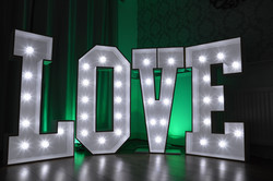 So Sweet Events, Marquee Letters