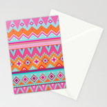 Tenochtitlan Sunset Greetings Cards