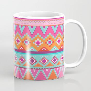 Tenochtitlan Sunset Mugs