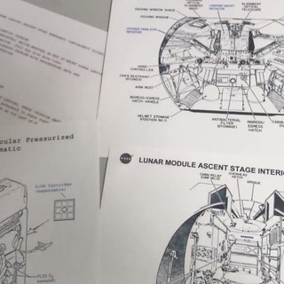 Primary source documents that players use to solve puzzles