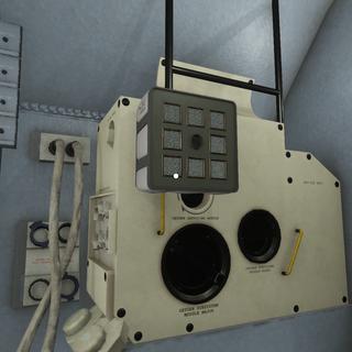 a partially solved puzzle, a replica of the Apollo 13 disaster