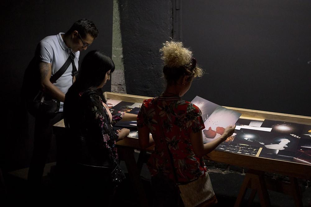 Proyecto: El vuelo de la polilla, del artista Juan Pablo Medina