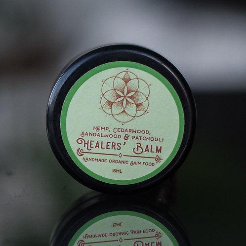 Hemp, Sandalwood, Cedarwood, & Patchouli Healer's Balm 15ml