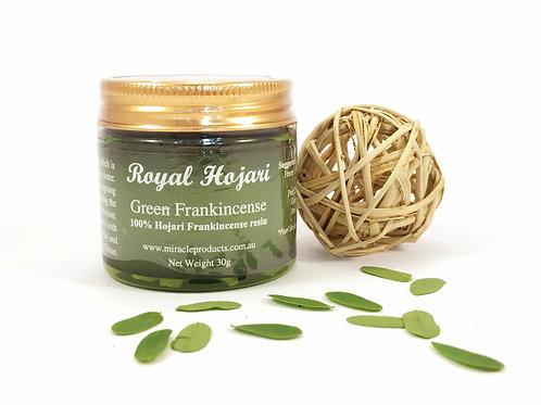 Royal Hojari Frankincense (30g) Uniquely medicinal edible resin direct from Oman