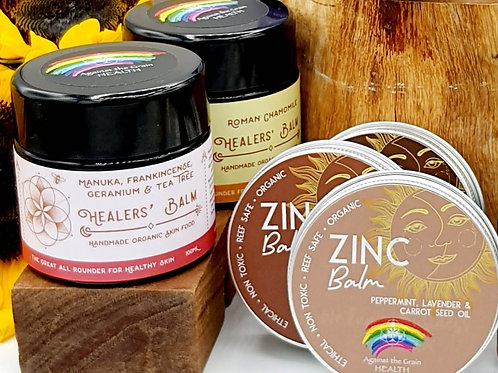 Healer's Balm & Zinc Combo