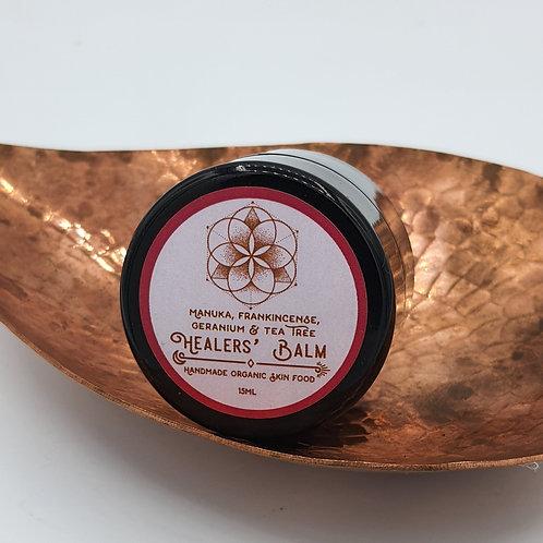 Frankincense, Geranium, Tea Tree Healer's Balm 15ml