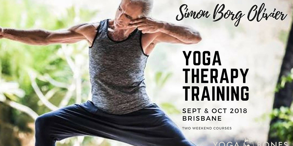 Yoga Therapy Training with Simon Borg Olivier