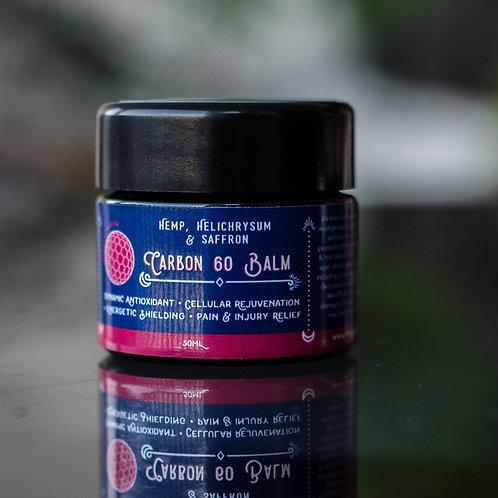 Carbon 60 Balm with Hemp, Helichrysum & Saffron