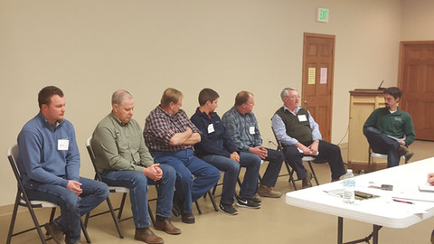 Farmer Panel at Workshop in Critical Are