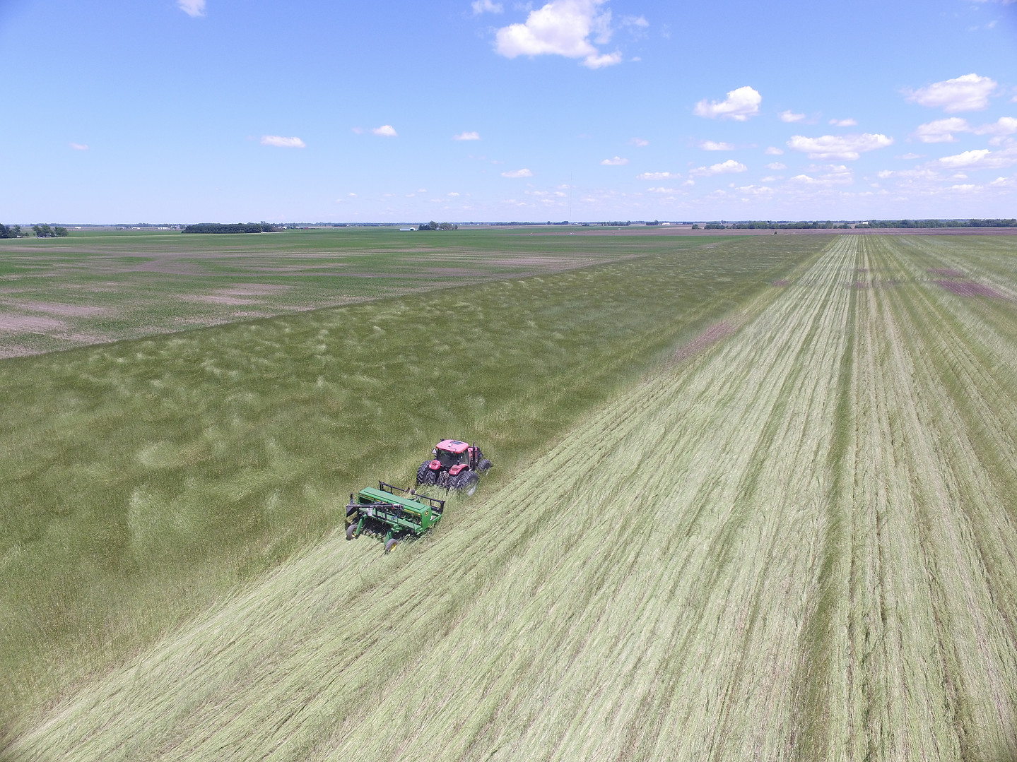 PLanting Green_Drone_drilling soybeans.J