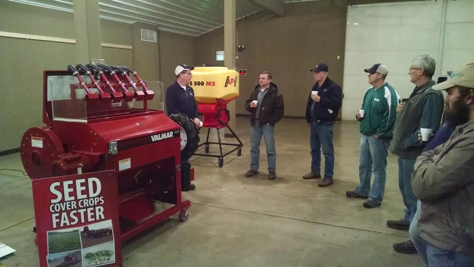 Equipment Workshop for Cover Crop Seedin