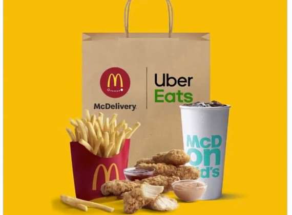 Mc Donalds x Uber Eats