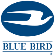 Blue Bird logo school bus