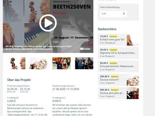 Crowdfunding für BEETH250VEN