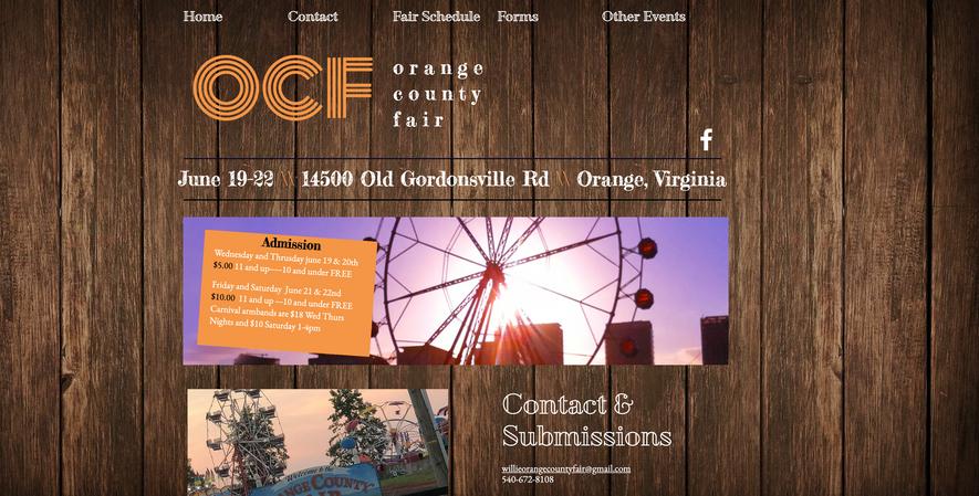 Orange County Fair Virginia