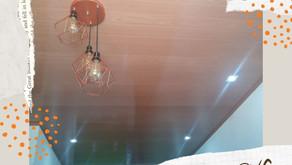 Forro de PVC para teto?