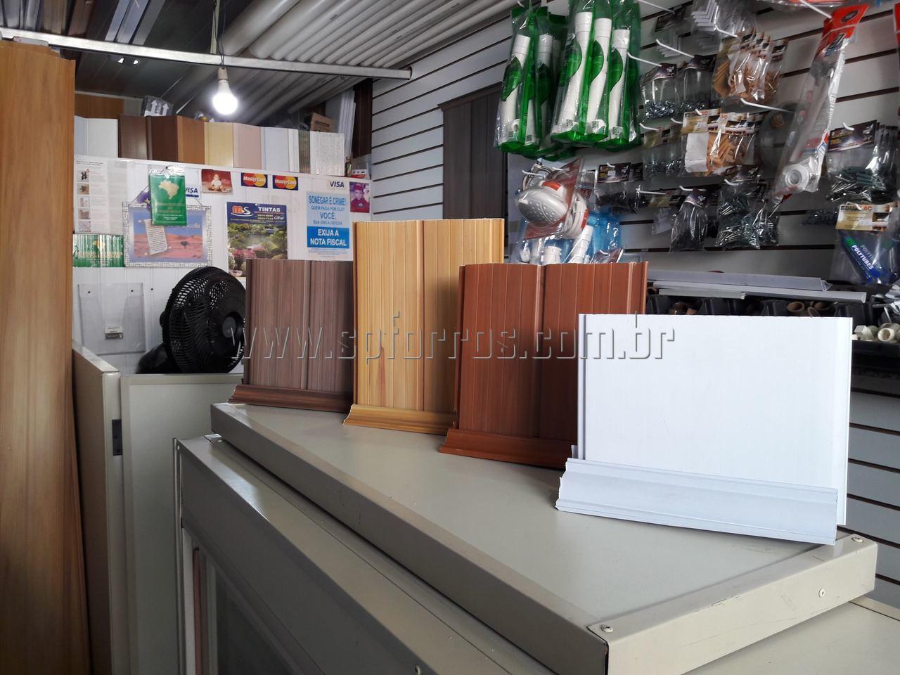 sp forros pvc cores de madeira em Piritu