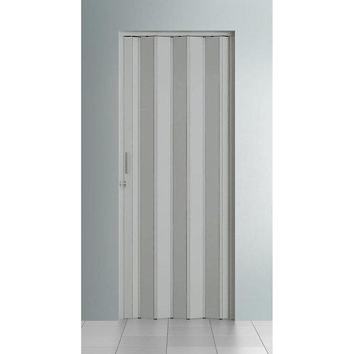 Porta Sanfonada Permatti 0,97X2,10 CINZA