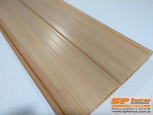 Forro de PVC Frisado cor Cerejeira 6,00