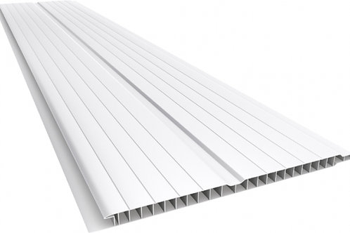 Forro pvc Branco Gelo Madex 8mm x 20 x 2,50comp.