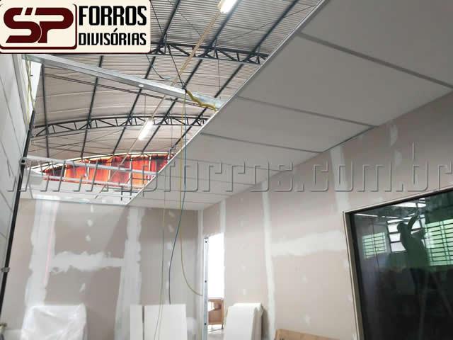 sp forros isopor e paredes em drywall