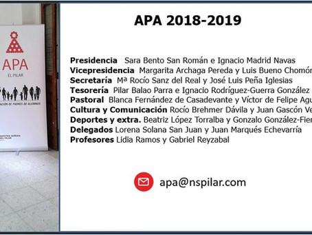 Nueva Junta de la APA