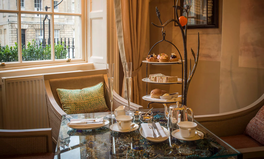 Afternoon tea at  No 15 Great Pulteney