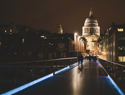 view over river to st pauls