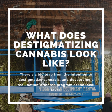 What Does Destigmatizing Cannabis Look Like?