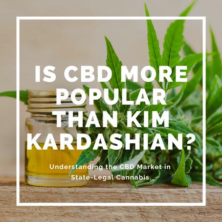 Is CBD More Popular Than Kim Kardashian?