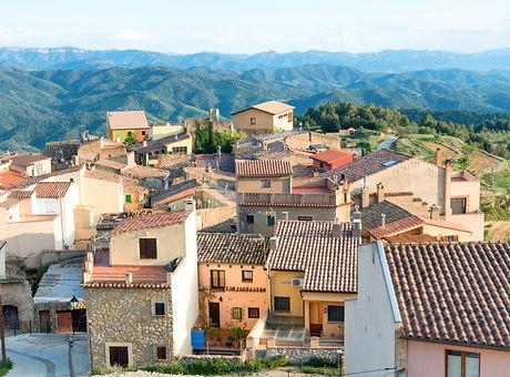 Small European Town in Spain