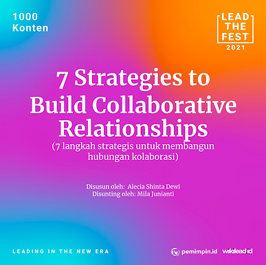 7 Strategies To Build Collaborative Relationships