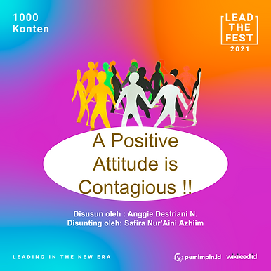 A Positive Attitude is Contagious