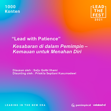 Lead With Patience