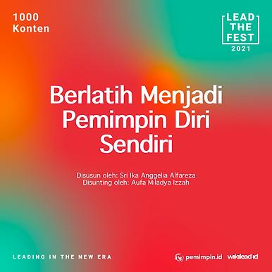 Berlatih Menjadi Pemimpin Diri Sendiri