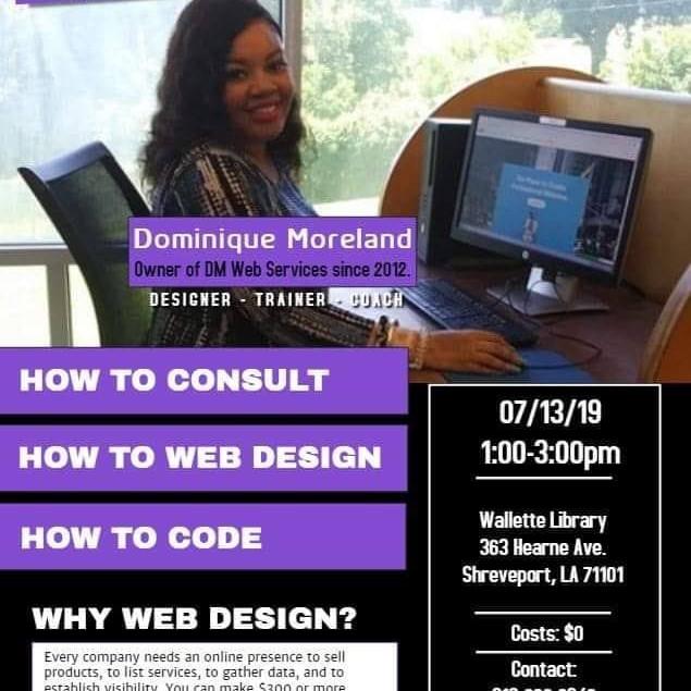 Web Design: Community Outreach