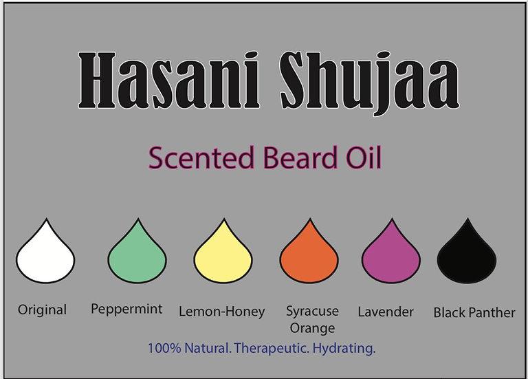 Hasani Shujaa Beard Oil (1 oz.)