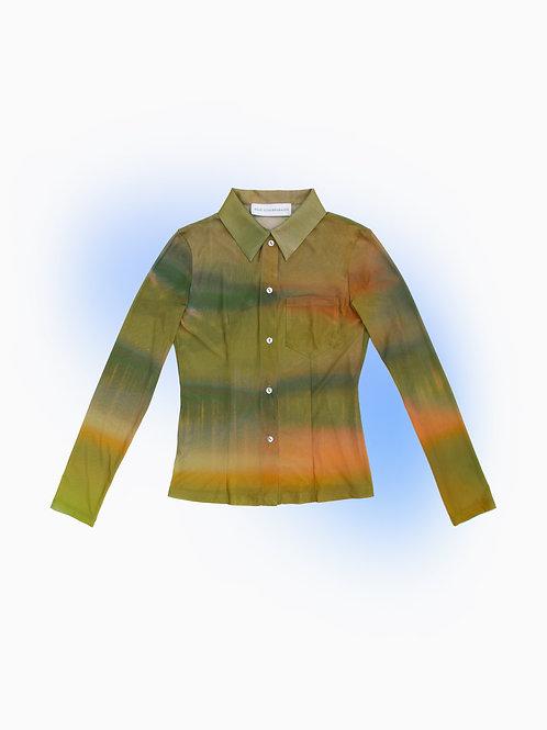 Anya Gorkova Edition Mesh Shirt Green