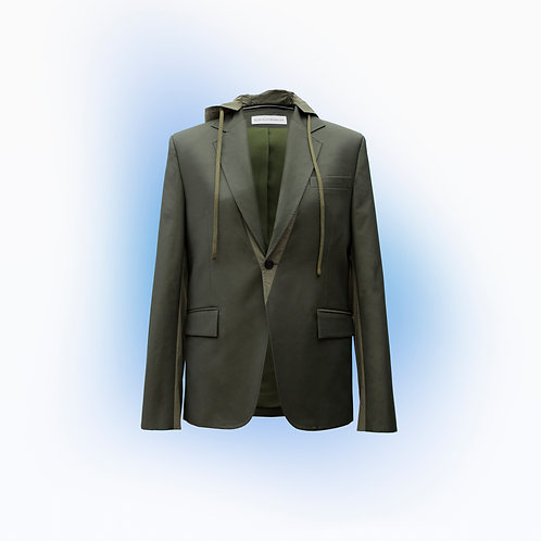 Hooded Suit Jacket